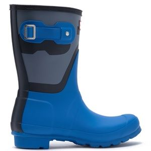 HUNTER Shadow Print Short Waterproof Rain Boots